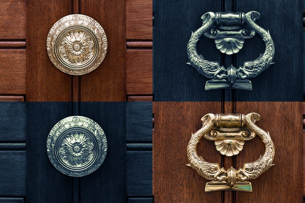 Türbeschläge ∙ Door Knockers and Door Knobs