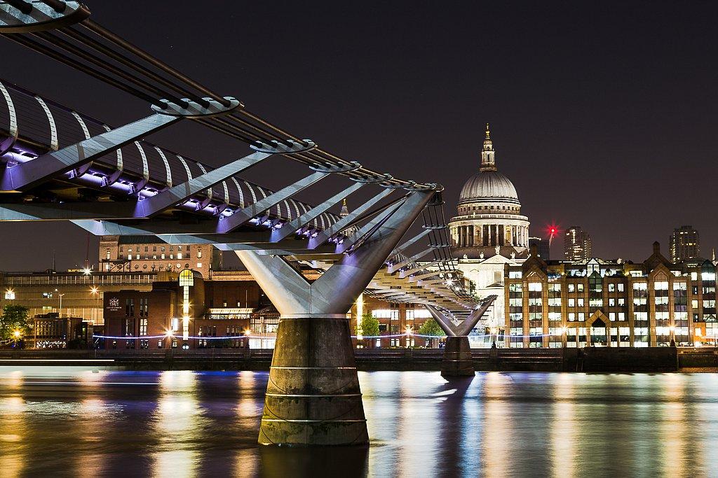 Millenium Bridge mit St. Paul's