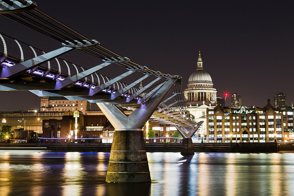 Millenium Bridge mit St. Paul's