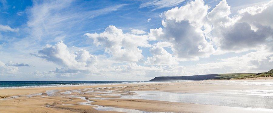 Juli - Strand bei Tolsta, Äußere Hebriden