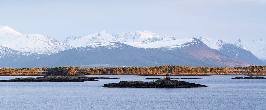 November - Nahe Ålesund, Norwegen